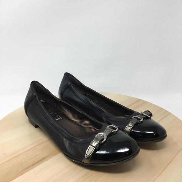 75b6659af4e AGL Shoes - AGL Italy Made Women s Size 38EUR Ballet Flats U6